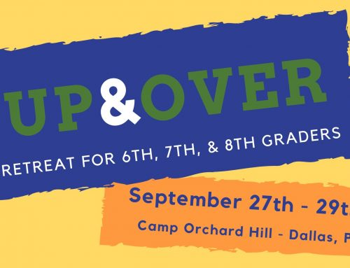 Up & Over Retreat September 27-29