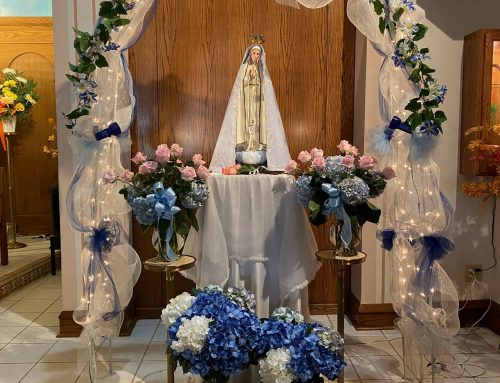 Our Lady of Fatima Devotions Thank You